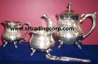 Silver Plated Tea Set 01