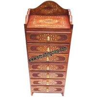 Wooden Drawer Chest (Model No - 2)