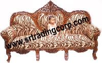 Wooden Sofa Set (PC - 4)