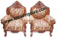 Wooden Sofa Set Pc - 6
