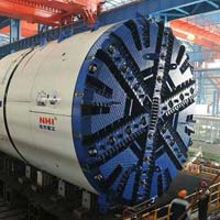 Dual Mode Tunnel Boring Machine