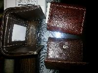Mens Trifold Leather Wallets 01