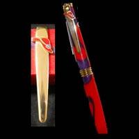 Brass Pen Clip