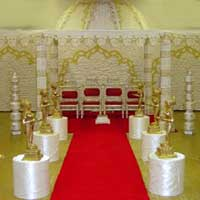 Cloth Drapped Mandap