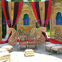 Jharokha Wedding Stage