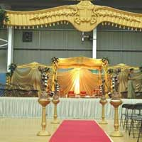 Lotus Wedding Mandap