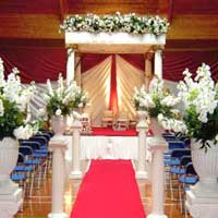 Roman Wedding Mandap