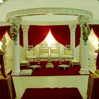 Six Pillar Wedding Mandap