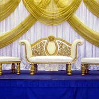 Wedding Stage with Crown Sofa