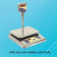 Stainless Steel Digital Weighing Scale