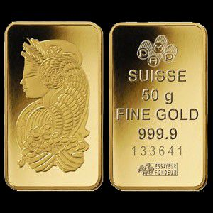 Gold Bullion Bar 02