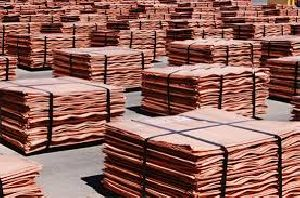 Copper Cathodes 99.97%