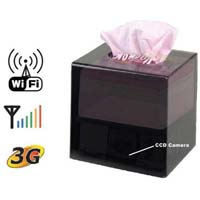 100 Spy Wifi Camera in Tissue Box