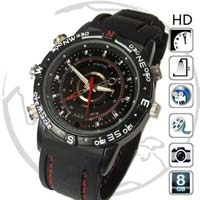 108 SPY Waterproof Dvr Watch