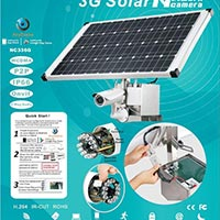 286 3g Surveillance Camera with Solar System