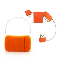 Multiple Usb Adapter Purse Shape