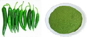 Freeze Dried Green Chili Powder / Flakes