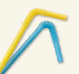Plastic Bendy Straws