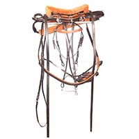 Horse Leather Harness Set