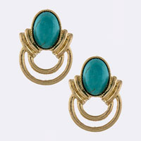 Gemstone Earring (ETE0024#5)