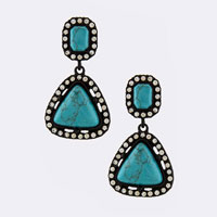 Gemstone Earring (ETE0030#3)