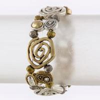 Metal Bracelet (B2435#3)