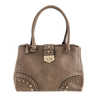 Minimal Studded Design Handbag