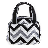 Quilted Chevron Insulated Bag