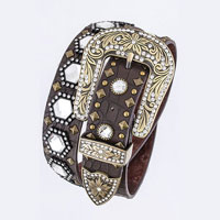 Rhinestone Angular Jewel Belt