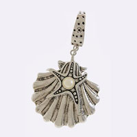 Starfish Shell Scarf Pendant