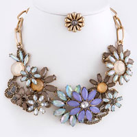 Trendy Necklace (NJNE1087#1)