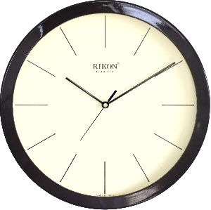 1751-C BROWN IVORY Economic Wall Clock