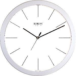 1751-C SILVER WHITE Economic Wall Clock