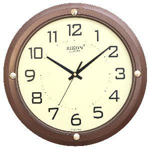 407 BROWN Economic Wall Clock