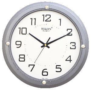407 GREY Economic Wall Clock