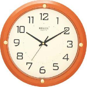 407 ORANGE Economic Wall Clock