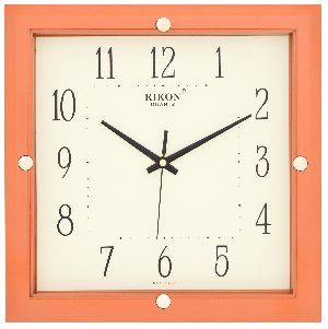 417 ORANGE Economic Wall Clock