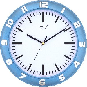 507 BLUE Economic Wall Clock