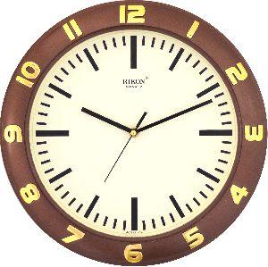 507 BROWN Economic Wall Clock