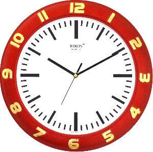 507 RED Economic Wall Clock