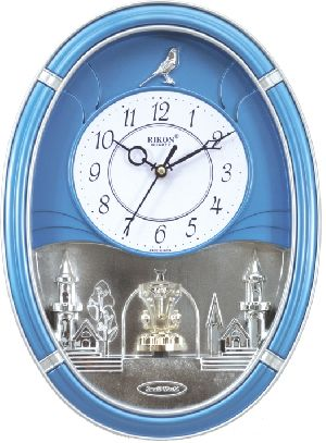 Rotating Wall Clocks