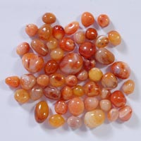 Red Carnelian Polished Pebbles