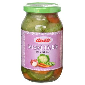 Mixed Pickle in Vinegar