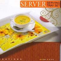 Server Serving Tray