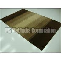 Brown Handloom Woolen Carpet