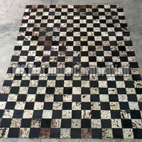 Design No. Leather rug (11)