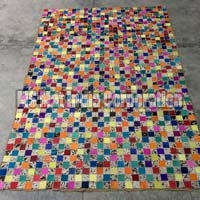 Design No. Leather rug (9)
