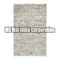Handmade Leather Shaggy Carpets
