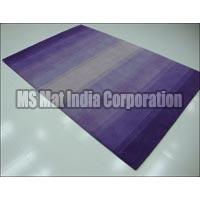 Lavender Handloom Woolen Carpet