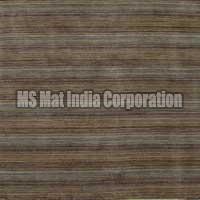 Multi Brown Handloom Woolen Carpet